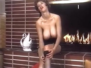 LIGHT MY FIRE - vintage stockings big boobs striptease
