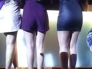 Sexy ass at the bar .