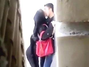 Persian Slut gets assfucked in public
