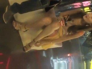 Hot asian nice legs and upskirt