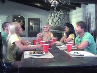 Best pornstar Alexis Ford in crazy big tits, blonde adult video