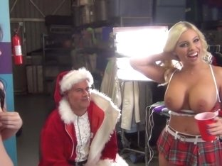 Hottest pornstars Britney Amber and Jennifer White in crazy lingerie, tattoos sex scene
