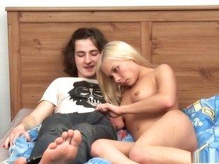 Horny pornstar in best college, blonde xxx scene