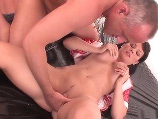 Hottest pornstar Kristi Love in fabulous lingerie, big tits porn video