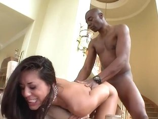 Lyla Storm gets nailed by black bull