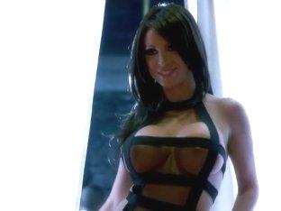 Nikki blows Keiran and his massive cock