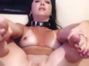 Captivating and resigned Mother I'd Like To Fuck plays with massive Hitachi