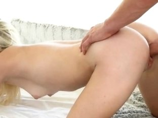 Perky tits blonde hottie Chloe Foster enjoys sensual fuck