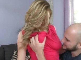 Jmac gets pleasured by busty blonde Keiyra Lina