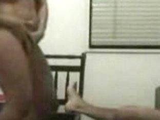 Chubby Latina filmed on hidden camera having sex