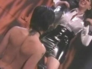 Arse flogging lesbo doxies swap ice cubes