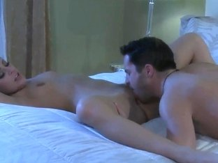 Gracie Glam gets hardcored in the dark of the bedroom