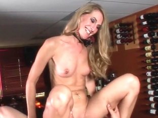 Slim milf sucks and fucks a young cock