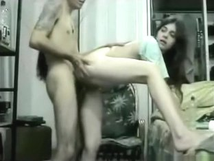 Cute native american girl oral, reverse cowgirl and doggystyle sex in the bedroom.
