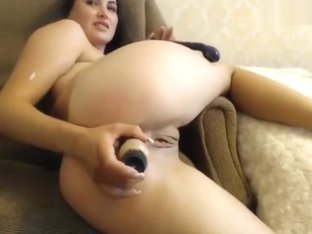 Missslady loves to fuck his ass