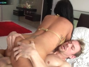 Busty chick Jenna Presley fucked in multiple positions