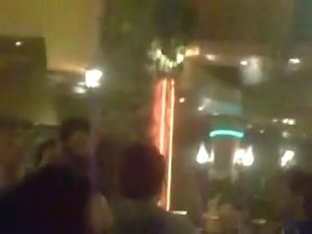 bulgarian party at restourant grows to strip