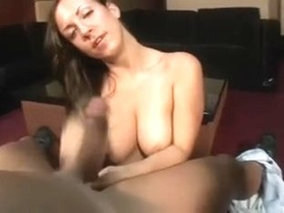 ugly chick blowjob pov