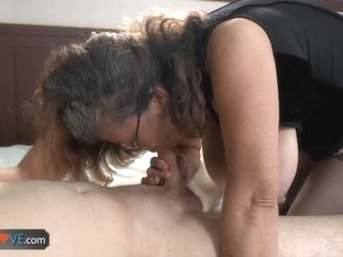 Agedlove granny banged doggystyle