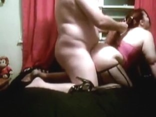 Home bondage with horny male