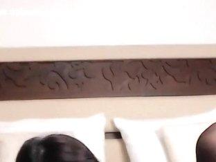 Webcam babe BrunettEllen in black stockings
