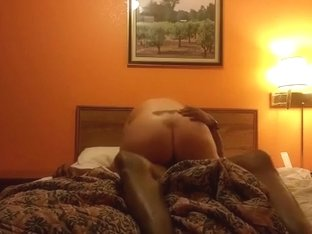 Raw black hood bull in the wife's pussy. just the way she likes it !!!