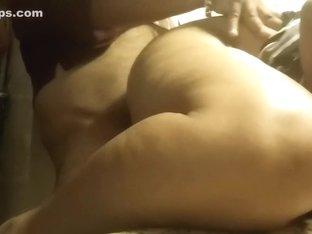 Biggest Booty Aunty Hiding N Fucking in Public Wc