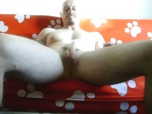 Sucking off my lover's fat manhood