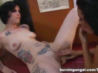 Hottest pornstar in Best Cunnilingus, Lesbian porn clip