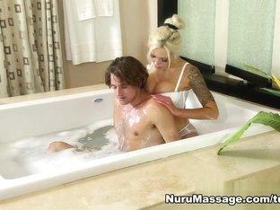 Hottest pornstars Tyler Nixon, Nina Elle in Exotic Blowjob, Massage adult video