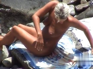 Nude Beach. Voyeur Video 292