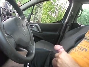 public flash in car