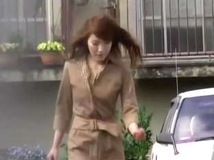 Dressed to impress sexy Asian got sharked in Japan
