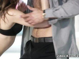 Horny pornstars Danny Mountain, Logan Pierce, Riley Reid in Hottest Romantic, Small Tits sex clip