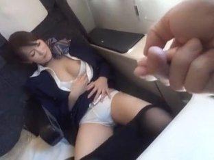 Fabulous Japanese model in Horny Hairy, Fingering JAV clip