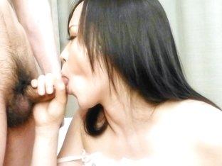 Incredible Japanese girl Yuka Wakatsuki in Exotic JAV uncensored Cumshots movie