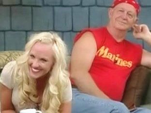 Hot blonde's gets an upskirt video done by a voyeur