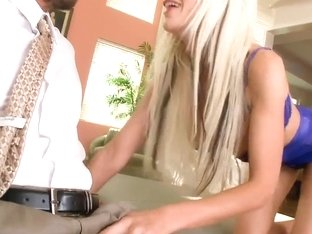 Puma Swede seducing a guy to fuck her very hard with his nice cock