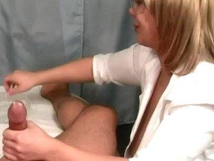 Nurse ruins agonorgasmos 3 times!