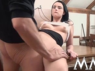 MMVFilms Video: Punishment For Young Slut