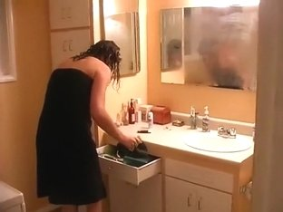 Taking a baths after sex