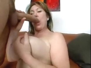 Biggest breasts and 10-Pounder enjoying each other