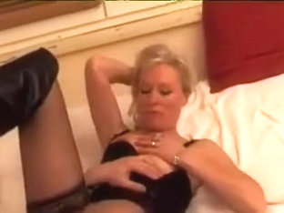 French blond older wife dream to make porn movie scene