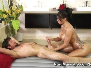 Incredible pornstars Peta Jensen, Tommy Gunn in Amazing Blowjob, Massage sex movie