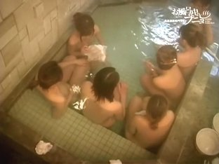 Tiny Asian girls are getting sweated on the sauna voyeur cam dvd 03219
