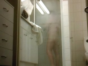 Shower Hairy Voyeur