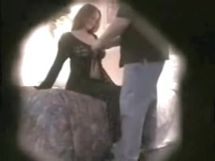 Raunchy spy cam sex scenes with girl blowing hard member