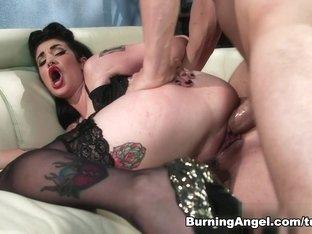 Incredible pornstars Arabelle Raphael, Erik Everhard in Exotic Brunette, Emo adult movie