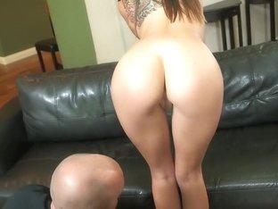 Hottest pornstar Tysen Rich in amazing facial, brunette porn video