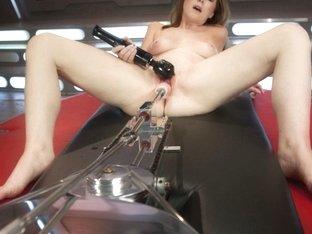 Best fetish sex video with crazy pornstar Scarlett Fay from Fuckingmachines
